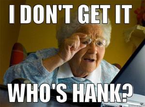 whos hank