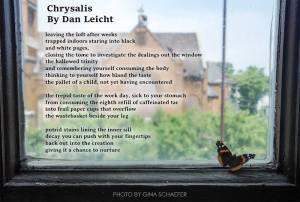 Chrysalis - Poetry - Dan Leicht - Gina Schaefer